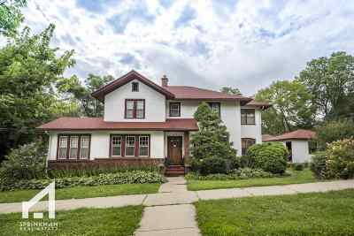 Madison Single Family Home For Sale: 1112 Grant St