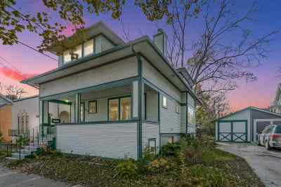Madison Single Family Home For Sale: 610 S Dickinson St