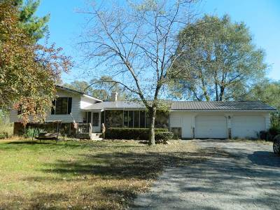 Green County Single Family Home For Sale: N2302 Brodhead Airport Rd