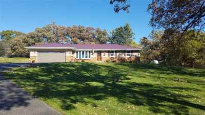 Walworth County Single Family Home For Sale: W9676 Stader Rd