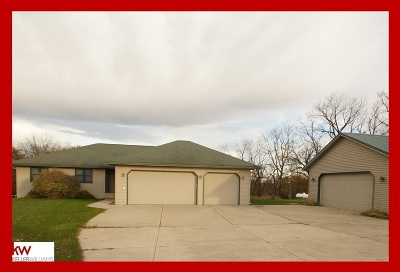 Green County Single Family Home For Sale: N7012 County Road J