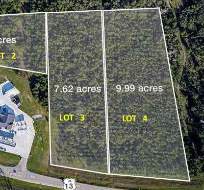 Friendship Residential Lots & Land For Sale: L3 Hwy 13