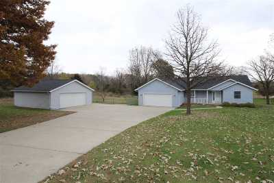 Rock County Single Family Home For Sale: 3645 S Duggan Rd