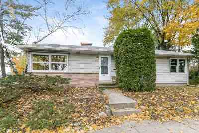 Madison Single Family Home For Sale: 626 S Midvale Blvd