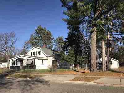 Adams WI Single Family Home For Sale: $56,900