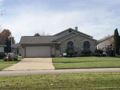 Janesville Single Family Home For Sale: 1913 N Wright Rd