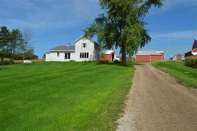 Green County Single Family Home For Sale: W6576 Franklin Rd