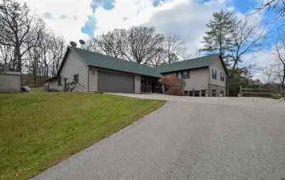 Janesville Single Family Home For Sale: 3121 N County Road E