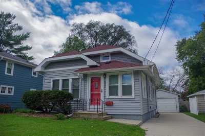Madison WI Single Family Home For Sale: $185,000