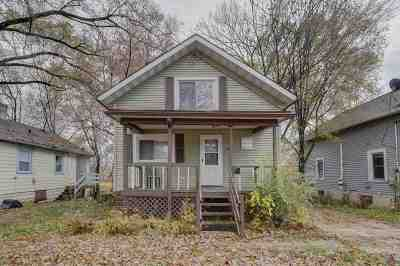 Madison WI Single Family Home For Sale: $120,000