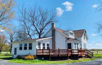 Columbia County Single Family Home For Sale: N3451 County Road Dg