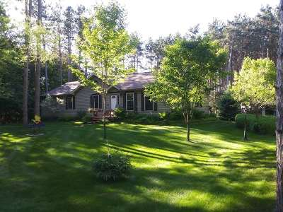 Wisconsin Dells Single Family Home For Sale: W1878 Juneau Woods Rd