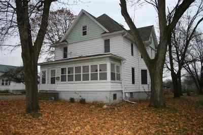 Columbus Single Family Home For Sale: W12405 Hwy 60