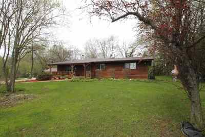 Janesville Single Family Home For Sale: 2826 W Miles Rd