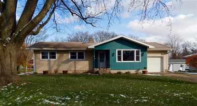 Evansville Single Family Home For Sale: 128 Crawford St