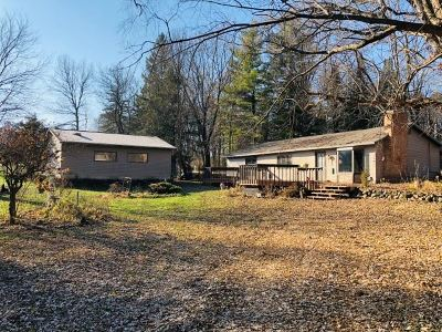 Columbia County Single Family Home For Sale: W13402 Lake Dr
