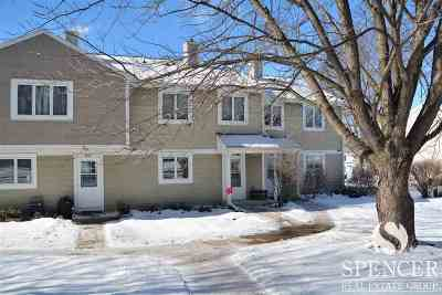 Middleton Condo/Townhouse For Sale: 5811 Highland Terr #B3