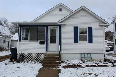 Janesville Single Family Home For Sale: 1331 E Racine