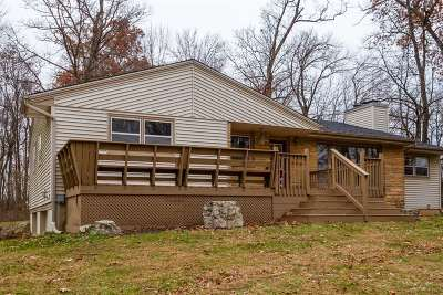 Rock County Single Family Home For Sale: 7220 W Hickory Hills Rd