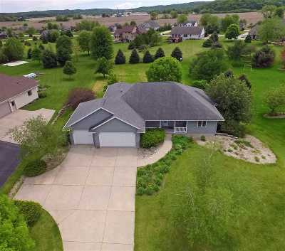 Prairie Du Sac WI Single Family Home For Sale: $425,000