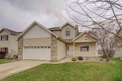 Fitchburg WI Single Family Home For Sale: $374,900