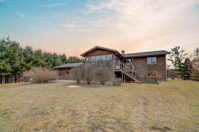 Columbia County Single Family Home For Sale: N7851 Maass Rd