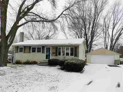 Madison WI Single Family Home For Sale: $169,500
