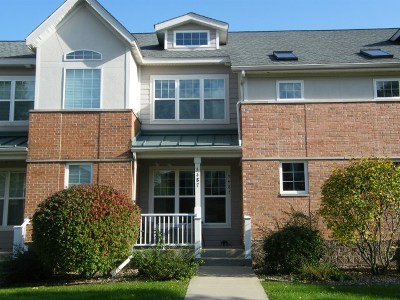 Fitchburg Condo/Townhouse For Sale: 5487 Caddis Bend