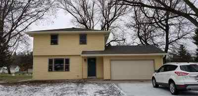 Janesville Single Family Home For Sale: 3404 Ruger Ave