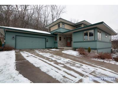 Cross Plains WI Single Family Home For Sale: $445,000