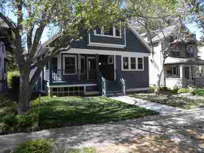 Madison Single Family Home For Sale: 1630 Adams St