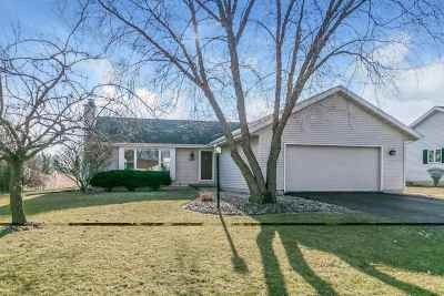 McFarland WI Single Family Home For Sale: $289,500