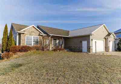 Waunakee WI Single Family Home For Sale: $349,900