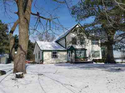 Wisconsin Dells Single Family Home For Sale: E9640 County Road P
