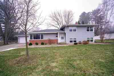 Stoughton WI Single Family Home For Sale: $299,900
