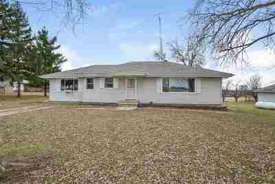 Waterloo Single Family Home For Sale: W11315 County Road I