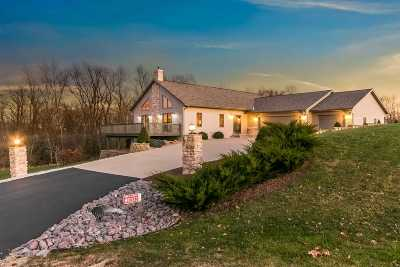 Columbia County Single Family Home For Sale: W10133 Giese Ln