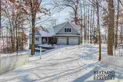 Merrimac WI Single Family Home For Sale: $1,189,000