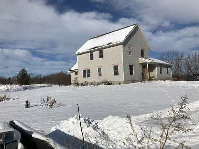 Columbia County Single Family Home For Sale: W1545 & W1547 County Road K