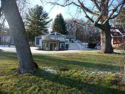Edgerton Single Family Home For Sale: 10050 N Edgewood Shores Rd
