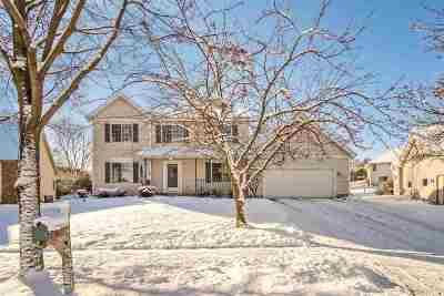 Madison Single Family Home For Sale: 3722 Woodstone Dr