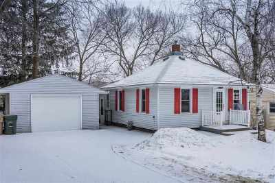 Madison Single Family Home For Sale: 406 Hilldale Ct