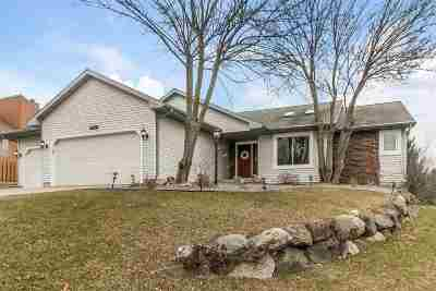 Fitchburg WI Single Family Home For Sale: $375,000