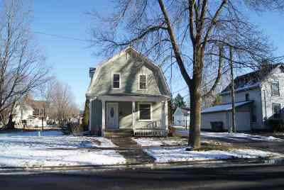 Evansville Single Family Home For Sale: 116 S 2nd St