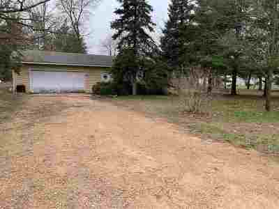 Adams WI Single Family Home For Sale: $26,500