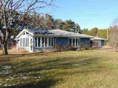 Beloit Single Family Home For Sale: 8344 Schroeder Rd