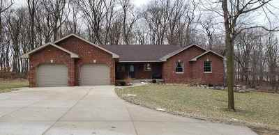 Green County Single Family Home For Sale: N321 Wolf Rd
