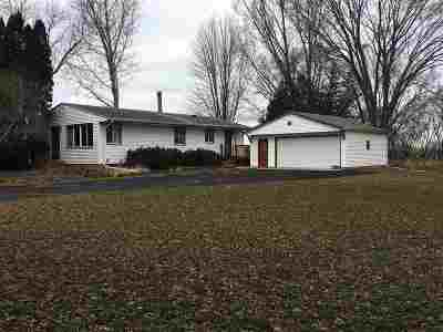 Columbus Single Family Home For Sale: N4379 Hwy 73