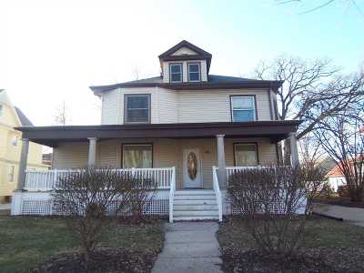 Beloit Single Family Home For Sale: 836 Park Ave
