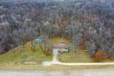 Iowa County Single Family Home For Sale: 6434 County Road K